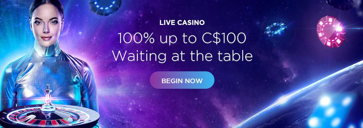 Genesis Live Casino Bonus
