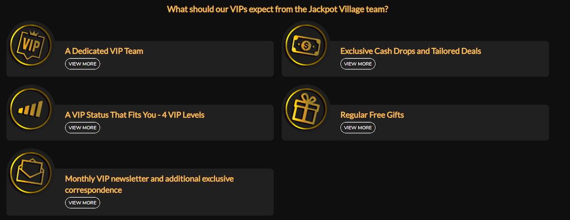 Jackpot Village VIP