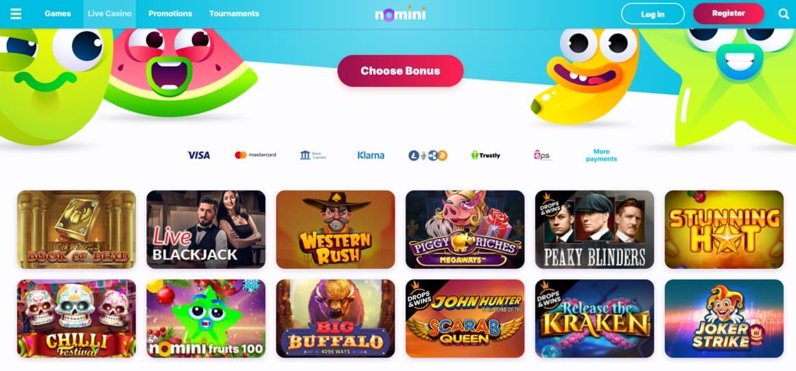Nomini Casino Slots