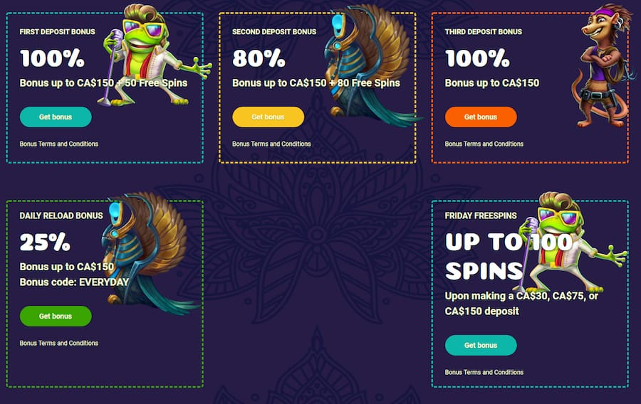 Samoa Casino bonus