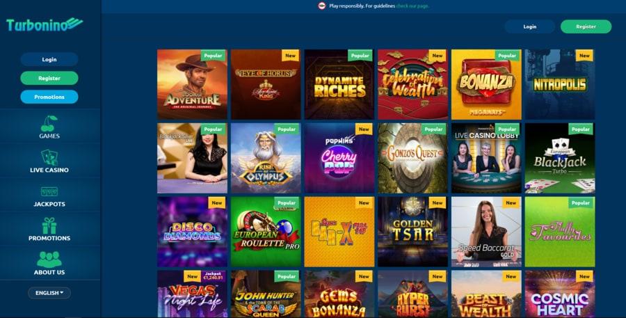 Turbonino Casino Slots