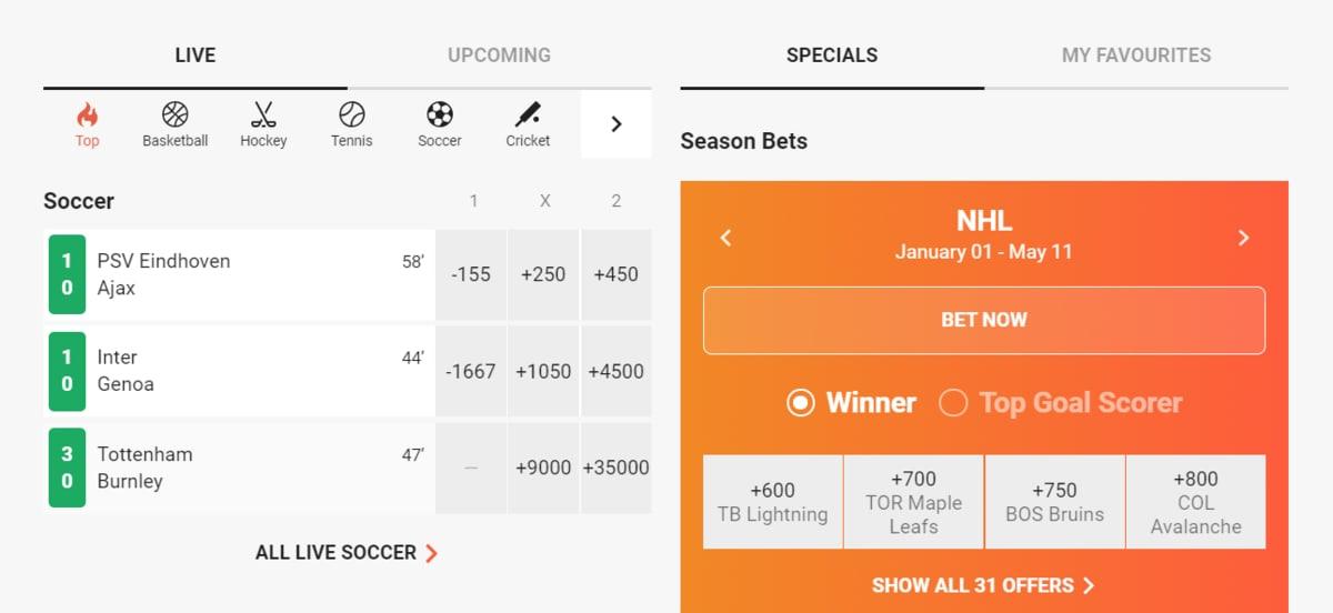 LeoBegas Sports Betting