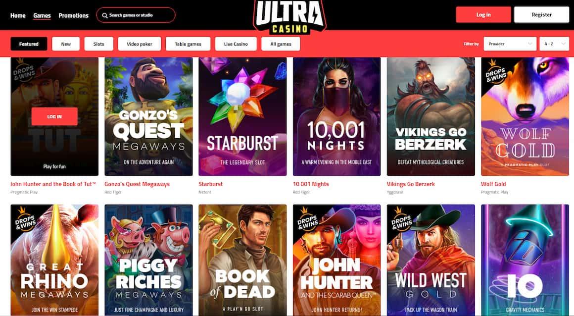 Ultra Casino Slots