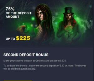 GetSlots Casino Bonus