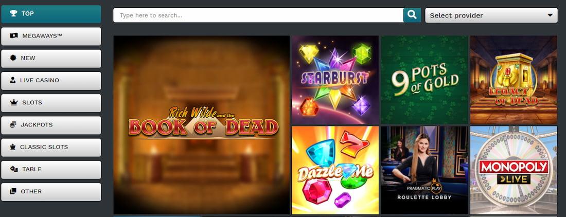 21Prive Casino Slots