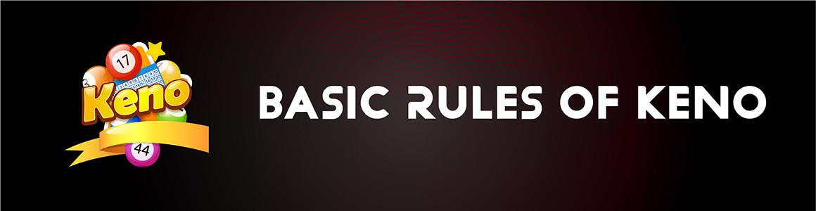Basic Keno Rules