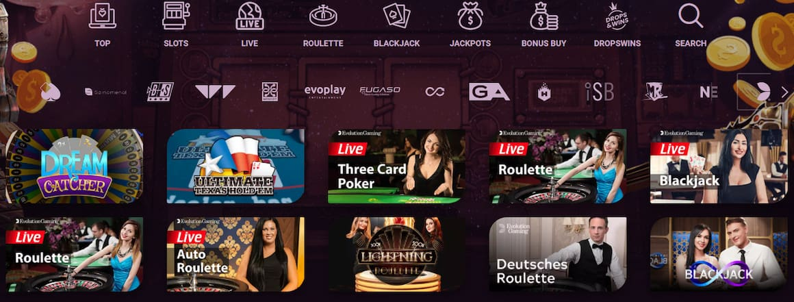 Casinonic Live Casino