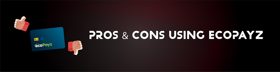 Pros And Cons Using Ecopayz
